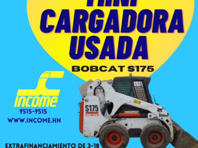MINI CARGADOR BOBCAT S175